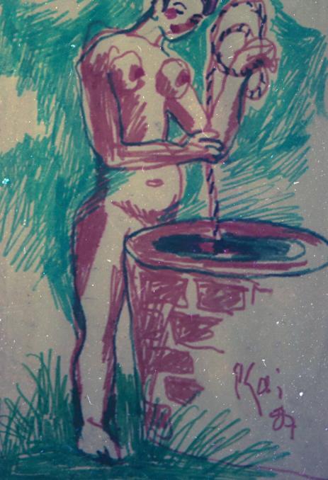 tranh hồ xuân hương của bùi xuân phái